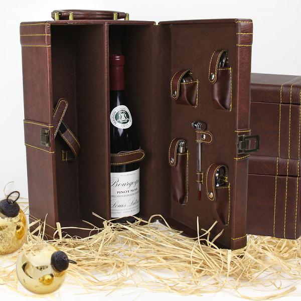 Hobart 2 Bottle Wine Case Amp Tools American Box