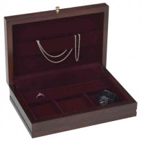 Reed & Barton 'Man of the Year' Valet & Cufflinks Box - Maho