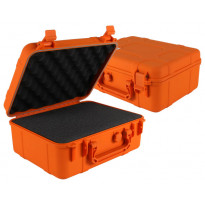 "Megilla 6700 12"" Waterproof Drybox Case - Orange"
