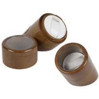 Plymouth High-Gloss Single-Watch Winder - Brown