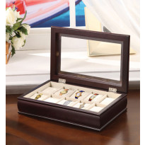 Pamplona 10-pc Watch Box